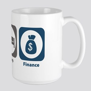 Eat Sleep Finance Large Mug