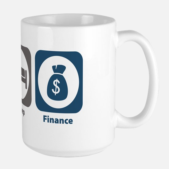 Eat Sleep Finance Large Mug
