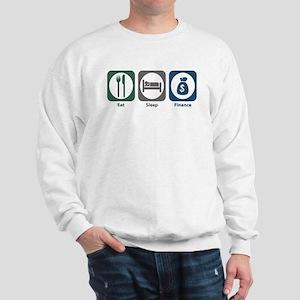 Eat Sleep Finance Sweatshirt
