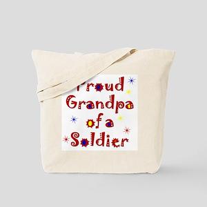 Grandpa Colorful Tote Bag