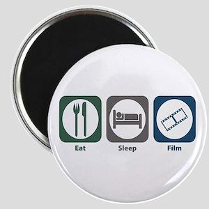 Eat Sleep Film Magnet