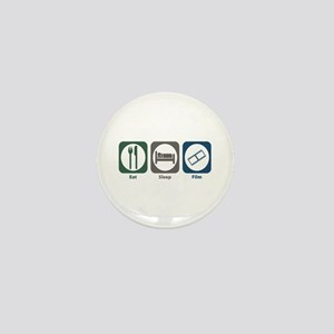 Eat Sleep Film Mini Button