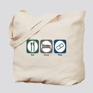 Eat Sleep Film Tote Bag