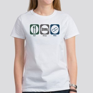 Eat Sleep Film Women's T-Shirt