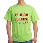 Retired Political Scientist Green T-Shirt