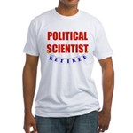 Retired Political Scientist Fitted T-Shirt