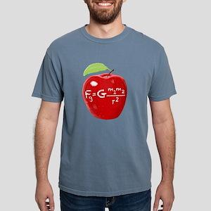 Science Teacher's Newton Gravity Law Apple T-Shirt