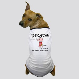 Clumsy Pirate Dog T-Shirt