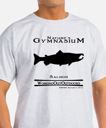 Nature's Gym Salmon T-Shirt