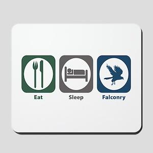Eat Sleep Falconry Mousepad