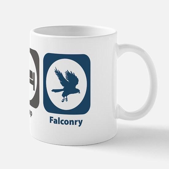 Eat Sleep Falconry Mug