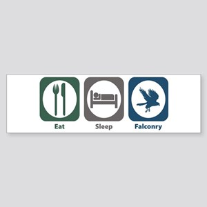 Eat Sleep Falconry Bumper Sticker