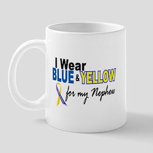I Wear Blue & Yellow....2 (Nephew) Mug