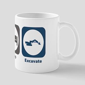 Eat Sleep Excavate Mug