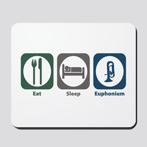 Eat Sleep Euphonium Mousepad