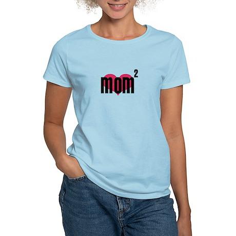 Mom of Two Women's Light T-Shirt