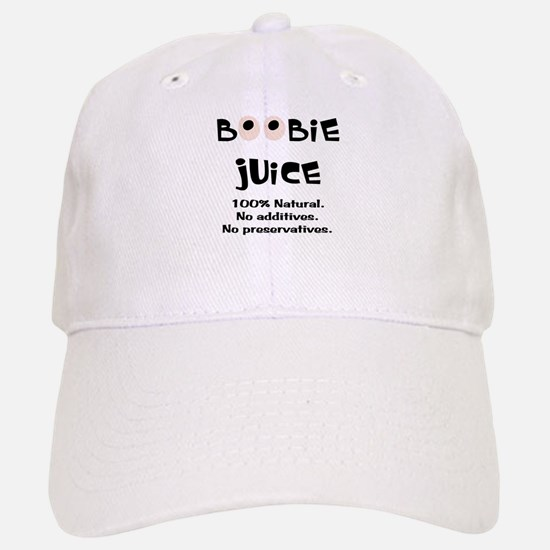 100% Natural Boobie Juice ~ Baseball Baseball Cap