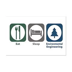 Eat Sleep Environmental Engineering Posters