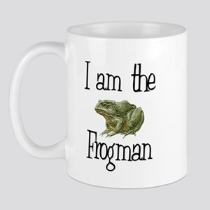 I am the Frogman Mug