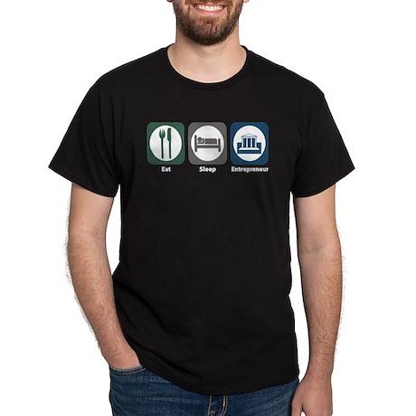 Eat Sleep Entrepreneur Dark T-Shirt