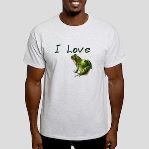 I Love Frogs #2 Light T-Shirt