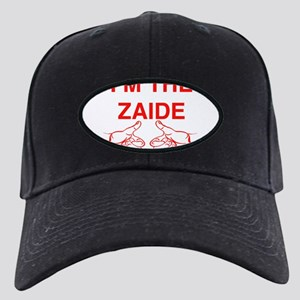 I'm The Zaide Yiddish Jewish Black Cap with Patch