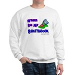 Wanna See my ShuttleCock Badm Sweatshirt