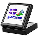 Wanna See my ShuttleCock Badm Keepsake Box