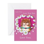Roosevelt Love Greeting Cards (Pk of 10)