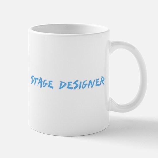 Stage Designer Profession Design Mugs