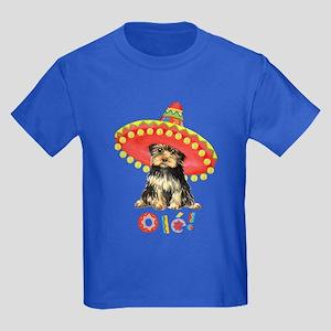 Fiesta Yorkie Kids Dark T-Shirt