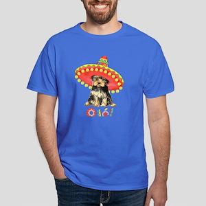 Fiesta Yorkie Dark T-Shirt
