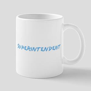 Superintendent Profession Design Mugs