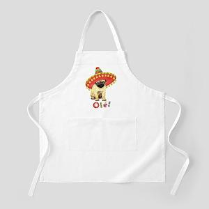 Fiesta Pug BBQ Apron