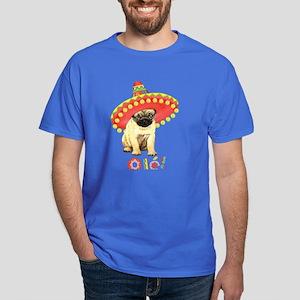 Fiesta Pug Dark T-Shirt