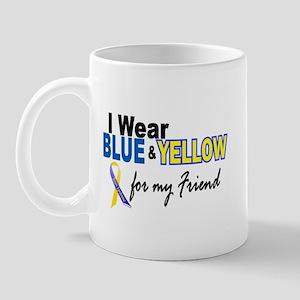 I Wear Blue & Yellow....2 (Friend) Mug