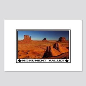MONUMENT VALLEY Postcards (Package of 8)