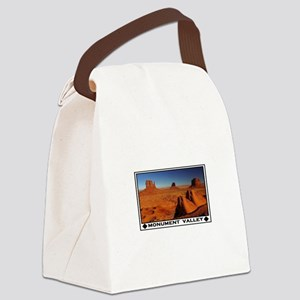 MONUMENT VALLEY Canvas Lunch Bag