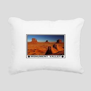 MONUMENT VALLEY Rectangular Canvas Pillow