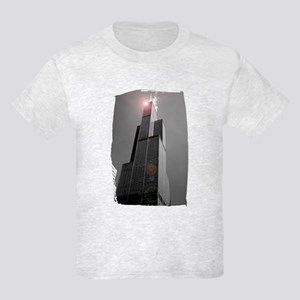 Sears Tower 2 Kids Light T-Shirt