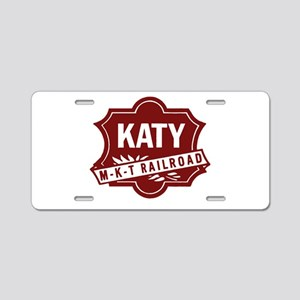 MKT Railroad Aluminum License Plate