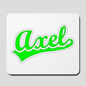 Retro Axel (Green) Mousepad