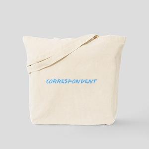 Correspondent Profession Design Tote Bag