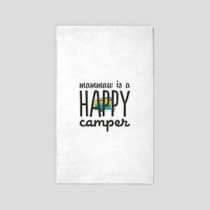 Personalize : Happy Camper Area Rug