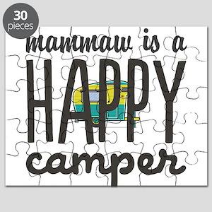 Personalize : Happy Camper Puzzle
