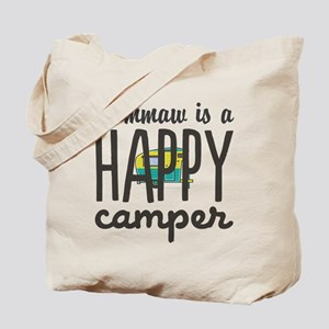 Personalize : Happy Camper Tote Bag