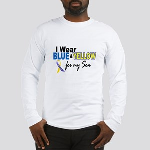 I Wear Blue & Yellow....2 (Son) Long Sleeve T-Shir