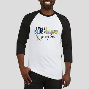 I Wear Blue & Yellow....2 (Son) Baseball Jersey