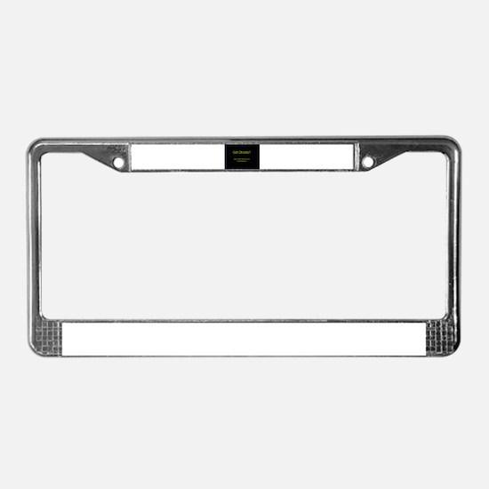 Unique Evp License Plate Frame