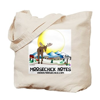 Moosechick Notes Tote Bag